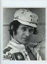 Arturo Merzario Ferrari Ritratto Watkins Glen 1972 firmato fotografia 1