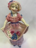 Royal Doulton Lucy Ann H.N.1502 Rare Figurine By Leslie Harradine