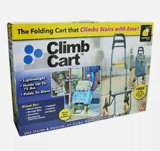 Climb Cart Stair Climbing Folding Lightweight Utility Trolley Up to 75 Lb New