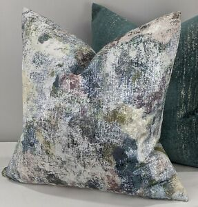 John Lewis Giverny Fabric Handmade Cushion Cover Multi Double Sided