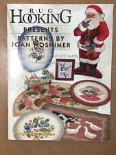 Vintage Rug Hooking Magazine Presents Patterns by Joan Moshimer