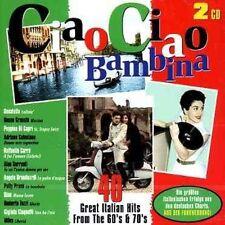 2 CD CIAO CIAO BAMBINA (NEU! Italien-Hits 60s 70s Volare Gloria Mama Leone mkmbh