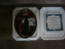 BARBIE DOLL OVAL PLATE--SOLO IN THE SPOTLIGHT   BY BRADFORD EXCHANGE 1999