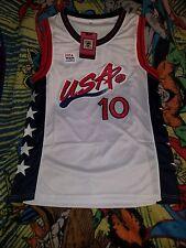 Reggie Miller Jersey 1996 Olympics Dream Team 2 White SIZE SMALL S SM