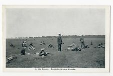 At the Ranges BARRIEFIELD CAMP Kingston Ontario Canada 1914-18 George Clark