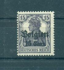 BELGIUM - GERMAN OCCUPATION 1914/18 Mi. 16 15C