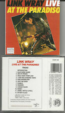 """Link Wray """"Live at the paradiso"""" CD 1999 MAGNUM/UK NUOVO/NEW"""