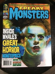 Freaky Monsters Magazine Issue #5...Famous Monsters Type Excellent