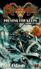 Shadowrun: Preying for Keeps Vol. 21 by Mel Odom (1996, Paperback)
