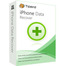 IPhone Data Recovery Tipard Dt. Version complète vie licence téléchargement 29,99!!!