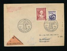 Christkindl Nachnahmebrief 6.1.1953