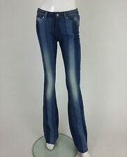Miss Sixty New Women's Tommy and Stripes Jeans Size W24 Color Blue Retail 141 £