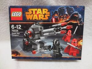 DEATH STAR TROOPERS STAR WARS LEGO 75034 – NEW UNOPENED
