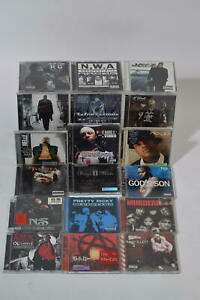 Rap Hip Hop Cd Albums Bundle Job Lot Gangster Rap Nelly Jay Z NWA & More x18