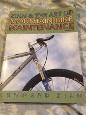 Zinn & The Art Of Mountain Bike Maintenence. 3rd Edition. Lennard Zinn