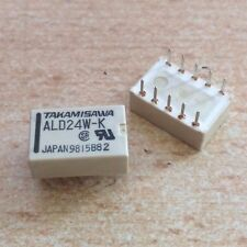 Dual Relay 24 volt low profile part number 2 x SPDT   ALD24W-K  pack 2    HU166