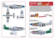 "KIT-mondo Decalcomanie Mustang 1/48 P-51D - ""DIABLO"" -"" L' incantatrice'S # 48174"