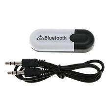 Bluetooth V4.0 Récepteur Connectivité Sans Fils Câble Audio 3,5 mm USB 2.0 Noir