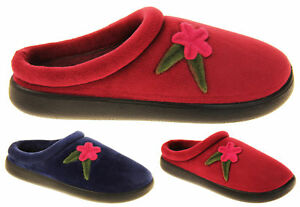 Womens Coolers Ultra Lightweight Outdoor Sole Floral Slippers Size 4 5 6 7 8