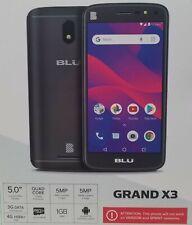 "BLU Grand X3 Factory/Network UNLOCKED 5"" 1GB 1.3GHz Quad Core 5MP Smartphone New"