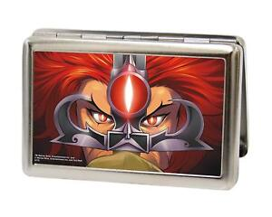 Thunder Cats Lion O Eyes Close up Metal Multi Use Wallet Business ID Holder New