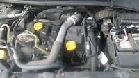 Renault Megane III 2009-2015 K9K 832 K9K832 Bare Engine Assembly 1.5 DCI 106BHP
