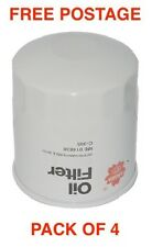 Sakura Oil Filter C-1125 BOX OF 4 Interchangeable with RYCO Z386