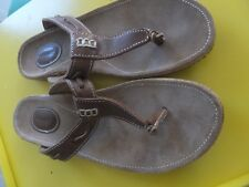 Sebago women's  Somersworth Thong Sandal  Sz 9M, Carmel,