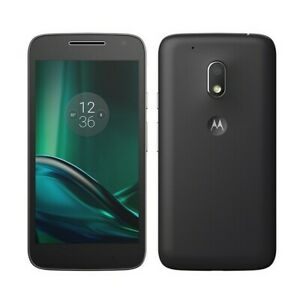 "Motorola Moto G4 Play XT1604 Unlocked Smartphone 5.0"" 8MP 16GB"