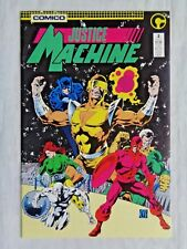Justice League No. 3 March 1987 Comico The Comic Co. First Printing VF/NM (9.0)