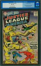Brave and the Bold #29 CGC 4.0 DC 1960 2nd Justice League of America! JLA E5 cm