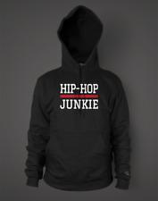 WOMEN'S AWDis HOODIE Hip Hop Junkie Classic Golden Era Rap Music