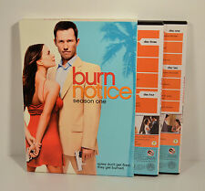 Complete First Season 1 Burn Notice (4 disk 11 episode) DVD Region 1 USA Canada