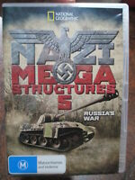 Nazi Megastructures 5 DVD Hitler Season 5 Russias War Kursk Germany Panther Tank