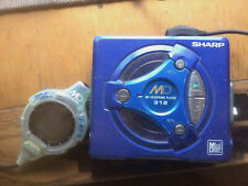 Rare Sharp Md-312 MiniDisk Player with remote