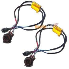 2pcs 3157 4157 Hyper Flash Fix Error Free 100W Decoders For LED Signal Lights