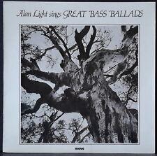 MOVE MS 3029 ALAN LIGHT SINGS GREAT BASS BALLADS ERIC GROSS, AUS PRESS 1980 NM