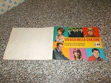 ALBUM 120 ASSI DELLA CANZONE(COP.MORBIDA L.30)ED.RIZZOLI 1966 COMPLETO BELLO