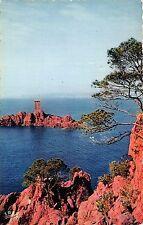 BR9375 La Corniche D Or Ile d Or vue du dramont   france