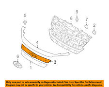 FORD OEM 10-12 Fusion-Grille Grill-Center AE5Z8200A