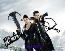 Hansel And Gretel Jeremy Renner Gemma Arterton SIGNED 10X8 REPRO PHOTO PRINT