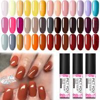 PICT YOU 5ml Colorful UV Gel Nagellack Pailletten Ablösen Nail Art Gellack DIY