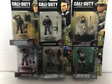 CALL OF DUTY. 6 DIFFERENT FIGURES. MEGA CONSTRUX