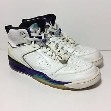 Rare Nike Air Jordan Sixty Plus 60 + Mens 11 White Emerald Grape 364806-132