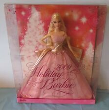 NEVER REMOVED FROM BOX 2009 HOLIDAY BARBIE DOLL