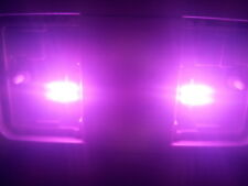 TWO Bright Purple 31mm LED DE3021 6428 3022 6SMD Dome Wedge Interior Light Bulbs