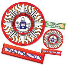 Dublin Ireland Fire Brigade Department Sticker Decal  Irish Fire