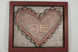 This Thing Called Family 'Know Myself, See Myself, Be Me' Wall Art  #16664  NIB
