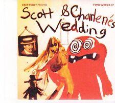 (DZ627) Scott & Charlene's Wedding, Two Weeks EP - 2013 DJ CD