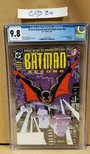 Batman Beyond Origin 6/99 #nn #1 CGC 9.8 CERT 3712165017 1st App Terry McGinnis